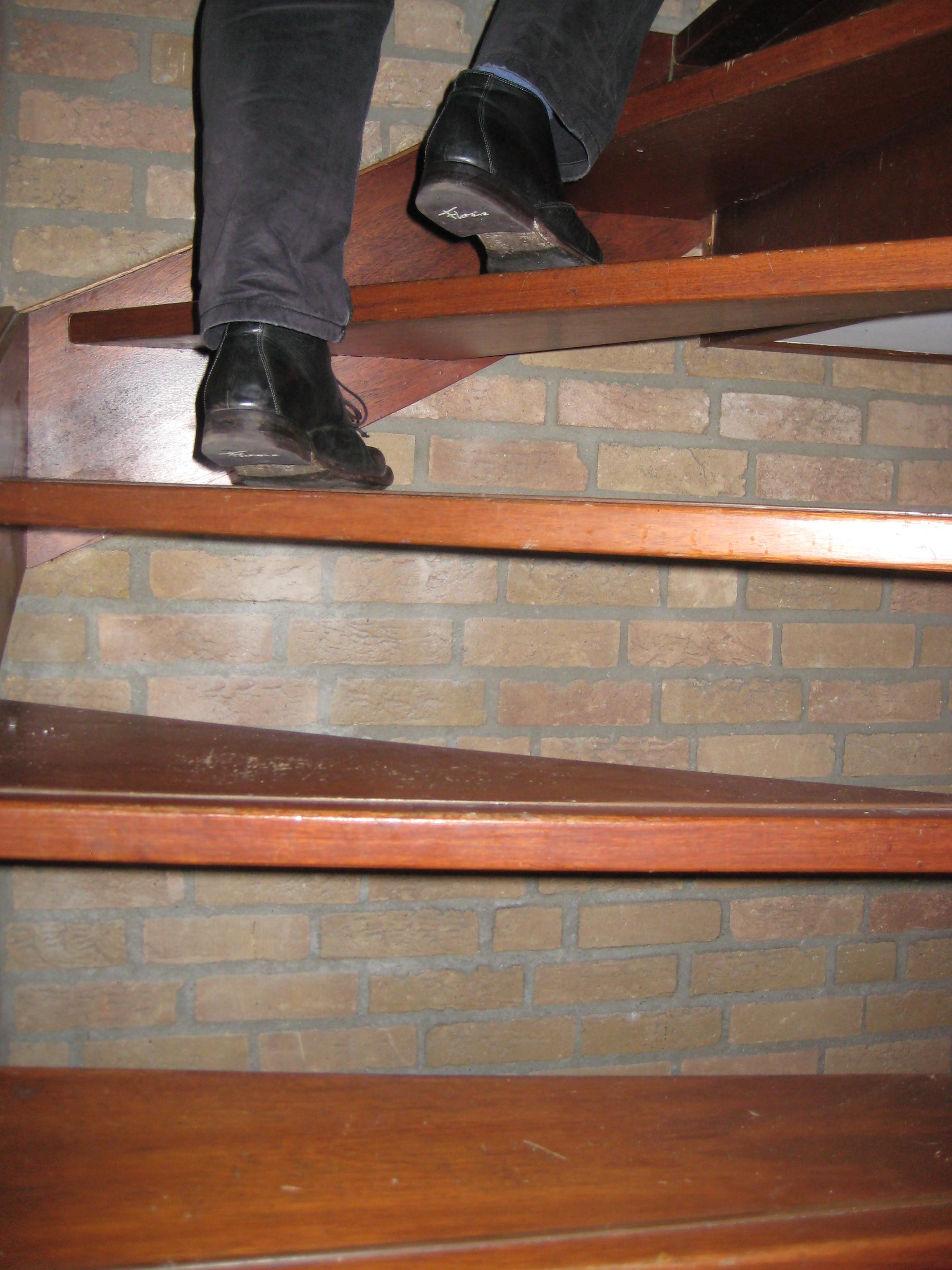 akoestiek, trappenhuis, metselwerk