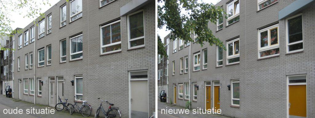 oude en nieuwe situatie Groningen