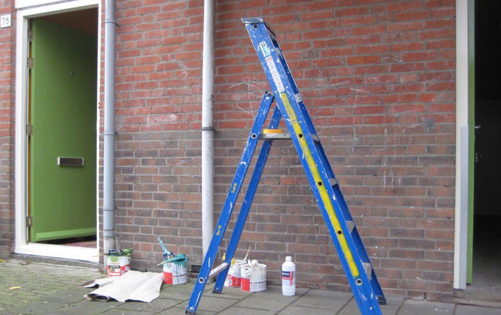 kleurwijziging ladder