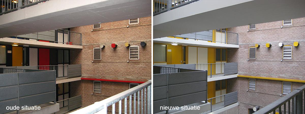 oud en nieuw Oosterkade Groningen