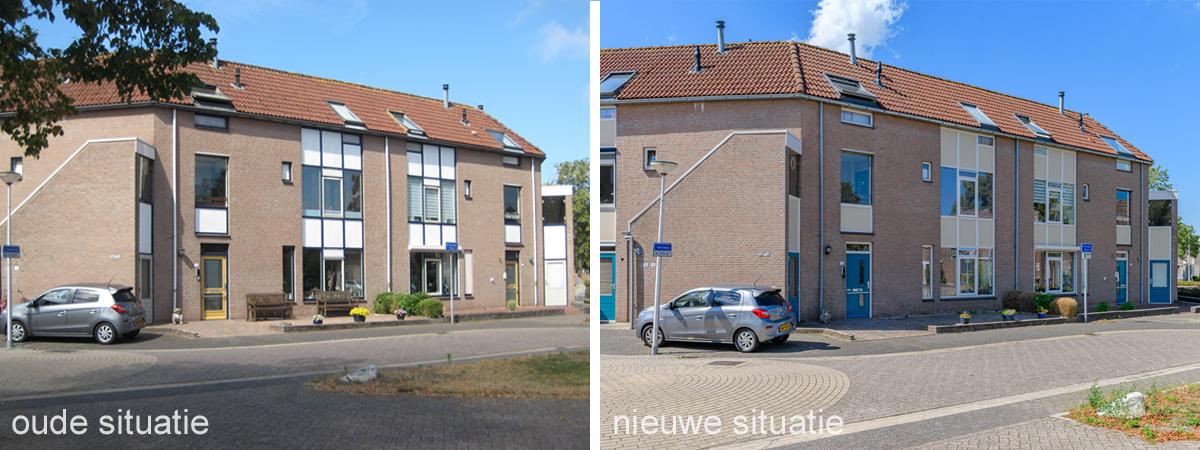 oude en nieuwe situatie Veenmos Kampen