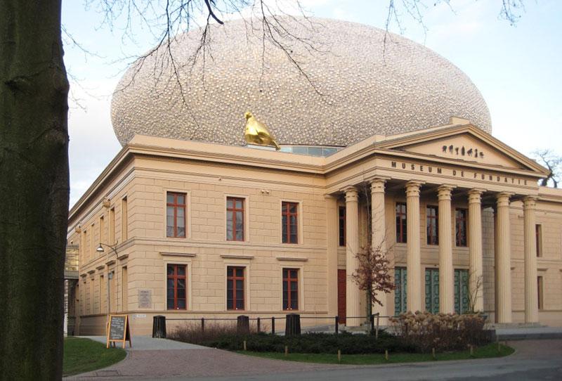 Museum de Fundatie parkzijde roelienke de vries kleurontwerp voor corporatievastgoed