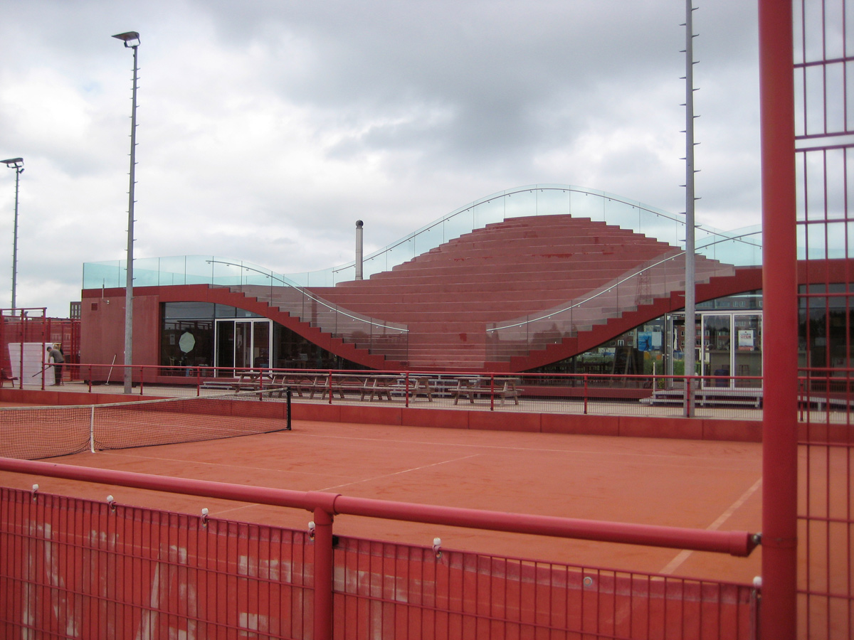 Tennisbaan Amsterdam